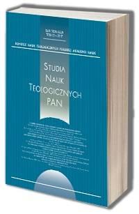 Studia Nauk Teologicznych PAN 12/2017. - okładka książki