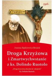 Droga krzyżowa i Zmartwychwstanie - okładka książki
