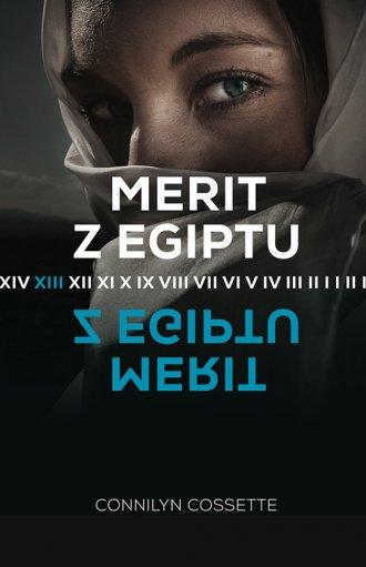 Merit z Egiptu - okładka książki