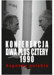 Konferencja dwa plus cztery 1990. - okładka książki
