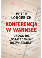 Konferencja w Wannsee. Droga do - okładka książki