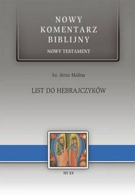 List do Hebrajczyków. NT XV - okładka książki