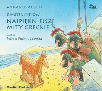 Najpiękniejsze mity greckie - pudełko audiobooku
