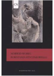 Norwid wobec Powstania Styczniowego - okładka książki