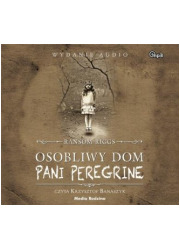 Osobliwy dom pani Peregrine - pudełko audiobooku