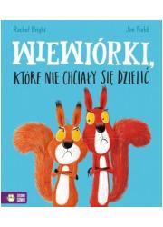 Wiewiórki, które nie chciały się - okładka książki