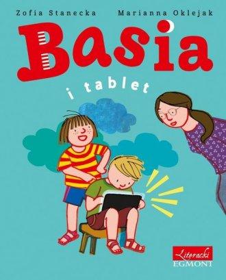 Basia i tablet - okładka książki