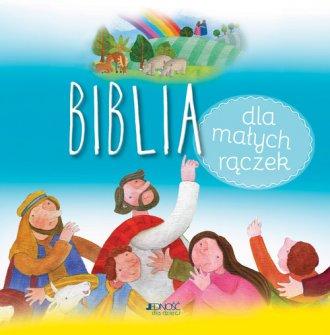 Biblia dla małych rączek - okładka książki