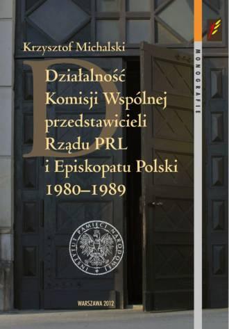 Działalność Komisji Wspólnej przedstawicieli - okładka książki