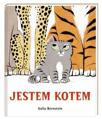 Jestem kotem - okładka książki