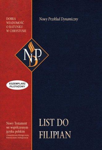 List do Filipian - okładka książki