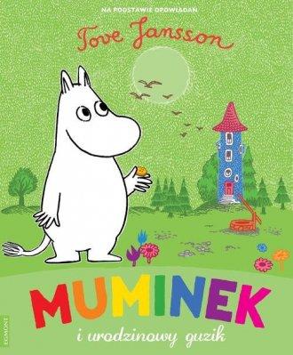 Muminek i urodzinowy guzik - okładka książki