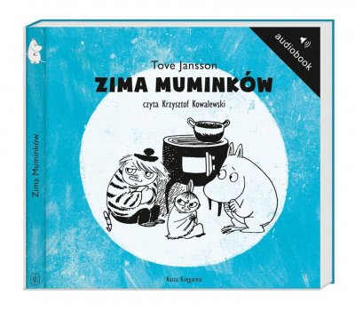 Zima Muminków - pudełko audiobooku