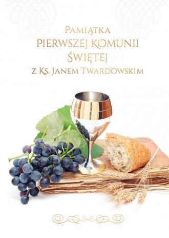 Pamiątka I Komunii Świętej z ks. - okładka książki