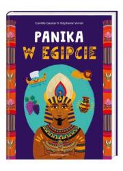 Panika w Egipcie - okładka książki