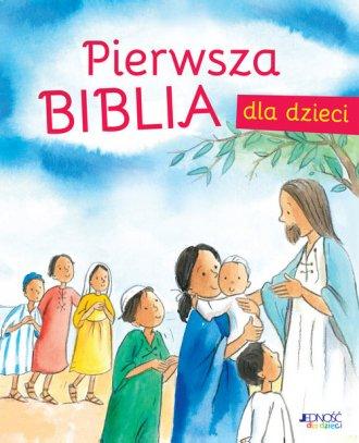 Pierwsza Biblia dla dzieci - okładka książki