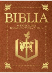 Biblia w przekładzie ks. Jakuba - okładka książki