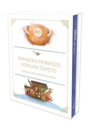 Komunijny Biblia + Pamiątka I Komunii - okładka książki