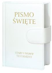 Pismo Święte Stary i Nowy Testament. - okładka książki