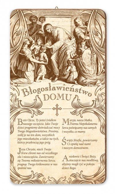 Obrazek Błogosławieństwo domu Pan - zdjęcie dewocjonaliów