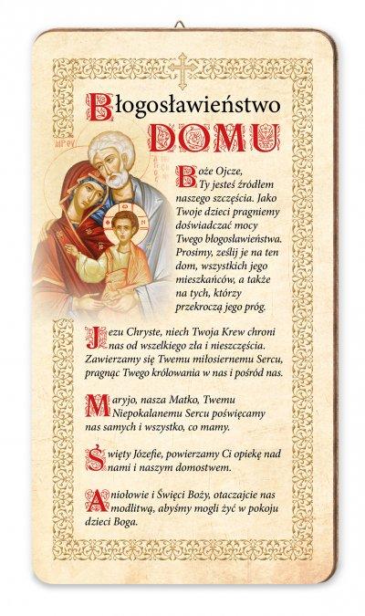 Obrazek Błogosławieństwo domu Święta - zdjęcie dewocjonaliów