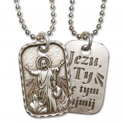 Medalik Chrystusa Pocieszyciela - zdjęcie dewocjonaliów