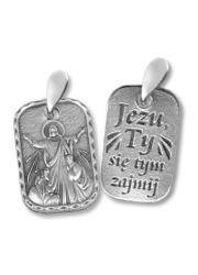 Medalik Jezu, Ty się tym zajmij - zdjęcie dewocjonaliów