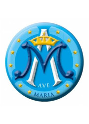 Naklejka samochodowa Ave Maria - zdjęcie dewocjonaliów