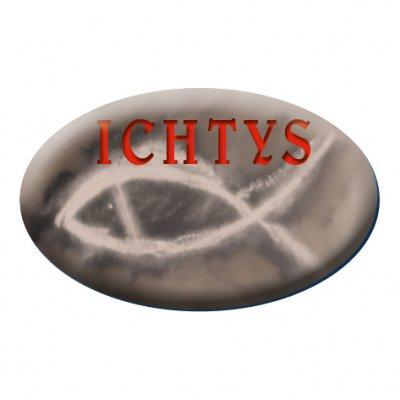 Naklejka samochodowa ICHTYS - zdjęcie dewocjonaliów