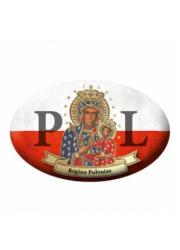 Naklejka samochodowa Patroni Polski - zdjęcie dewocjonaliów