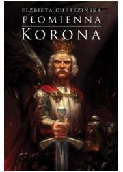 Płomienna korona - okładka książki