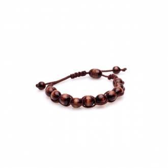Różaniec Codzienny - brązowy ciemny - zdjęcie dewocjonaliów