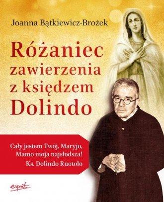 Różaniec zawierzenia z księdzem - okładka książki