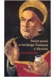 Świat uczuć u świętego Tomasza - okładka książki