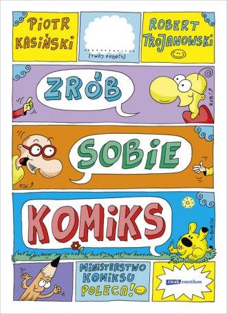 Zrób sobie komiks - okładka książki