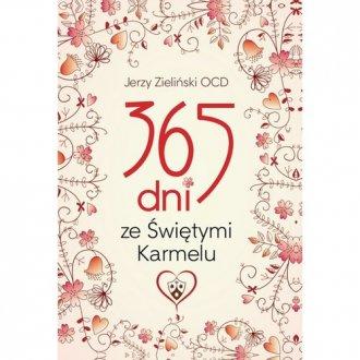 365 dni ze Świętymi Karmelu - okładka książki
