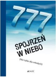 777 spojrzeń w niebo (nie tylko - okładka książki