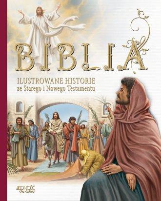 Biblia. Ilustrowane historie ze - okładka książki
