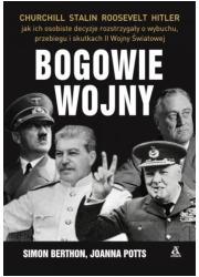 Bogowie wojny. Hitler, Churchill, - okładka książki