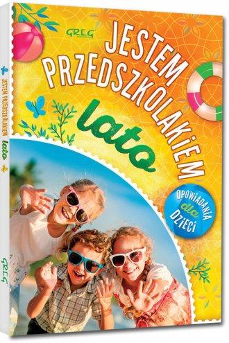 Jestem przedszkolakiem - lato - okładka książki