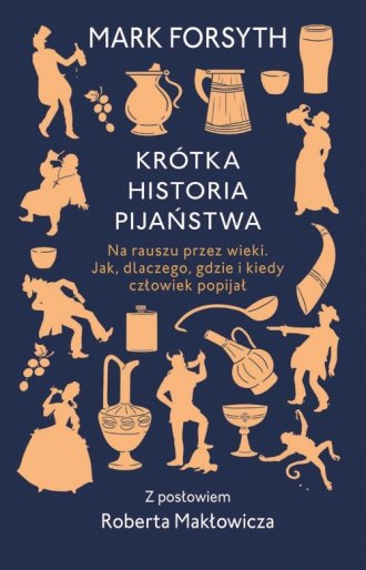 Krótka historia pijaństwa - okładka książki