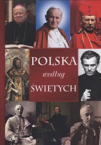 Polska według świętych - okładka książki