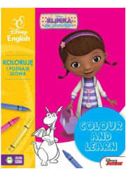 Colour and learn! Dosia Koloruję - okładka książki