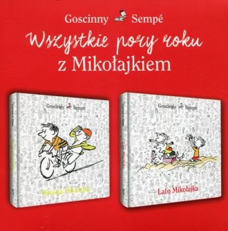 Wszystkie pory roku z Mikołajkiem. - okładka książki