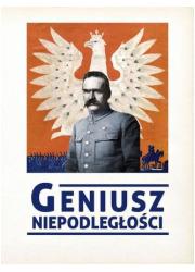 Geniusz niepodległości - okładka książki