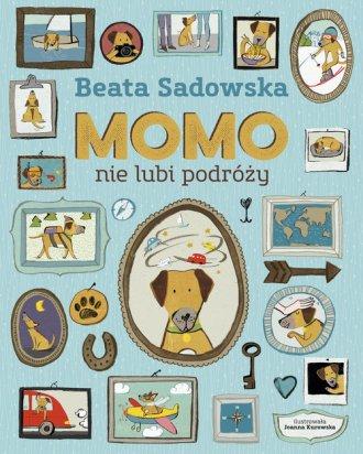 Momo nie lubi podróży - okładka książki