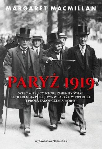 Paryż 1919. Sześć miesięcy, które - okładka książki