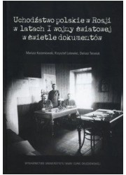 Uchodźstwo polskie w Rosji w latach - okładka książki