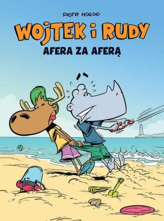 Wojtek i Rudy. Afera za aferą - okładka książki