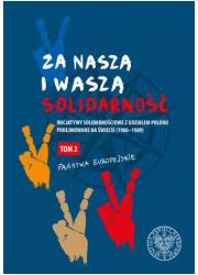 Za naszą i waszą Solidarność Tom - okładka książki